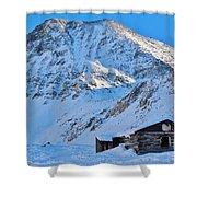 Boston Mine Winter 3 Shower Curtain