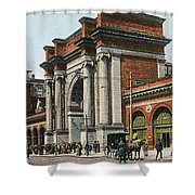 Boston: North Station Shower Curtain