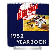 Boston Red Sox 1952 Yearbook Shower Curtain