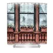 Boston Strong Memorial Back Bay Shower Curtain