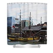Boston Tea Party 14bos045 Shower Curtain
