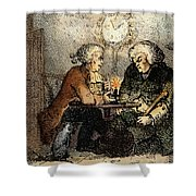 Boswell And Johnson, 1786 Shower Curtain