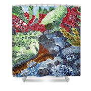 Botanic Garden Merano 2 Shower Curtain
