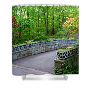 Botanical Bridge Shower Curtain