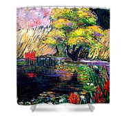 Botanical Garden In Lund Sweden Shower Curtain