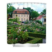 Botanical Gardens - Stockholm Sweden Shower Curtain