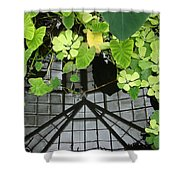 Botanical Illusions Shower Curtain