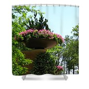 Botanical Sky Shower Curtain