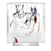 Both Faces Shower Curtain