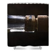 Bottle And Cork-1 Shower Curtain by Steve Somerville