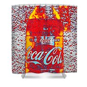 Bottle Of Coca-cola Shower Curtain