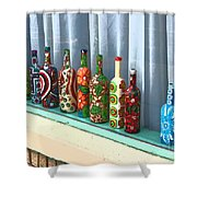 Bottled Up Shower Curtain