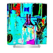 Bottles 27 Shower Curtain