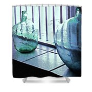 Bottles Still Life Shower Curtain