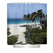 Bottom Bay Shower Curtain