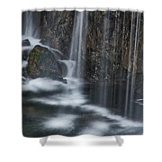 Bottom Of A Waterfall #3 Shower Curtain