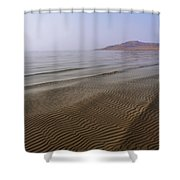 Bottom Ripples Shower Curtain