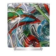Bottoms Up 5 Shower Curtain
