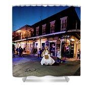 Boubon Bride - New Orleans Shower Curtain