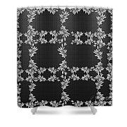 Bough Grid Shower Curtain