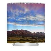 Boulder Colorado Dreaming Shower Curtain