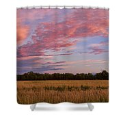 Boulder County Colorado Country Sunset Shower Curtain