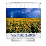 Boulder  County Colorado Shower Curtain