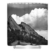Boulder Flatirons 2 Shower Curtain