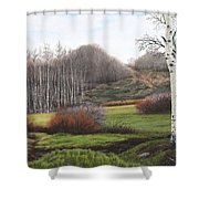 Boulder Pass Shower Curtain