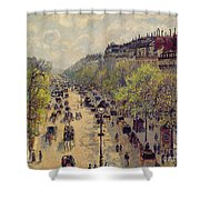 Boulevard Montmartre Shower Curtain