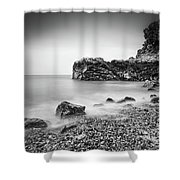 Bouley Bay Shower Curtain by James Billings