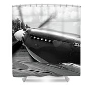 Boultbee Spitfire Tr9 Shower Curtain