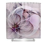 Bound Away - Fractal Art Shower Curtain