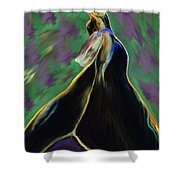 Bound By Ankles Shower Curtain