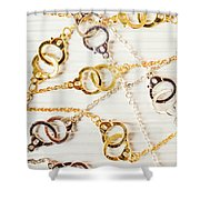 Bound By Love  Shower Curtain
