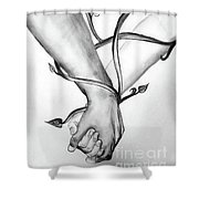 Bound By Love Shower Curtain