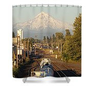 Bound For Glory Shower Curtain
