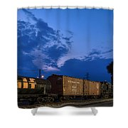 Bound For Nowhere Shower Curtain
