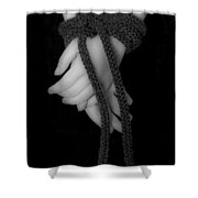 Bound Hands Shower Curtain
