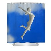 Boundless Woman Shower Curtain