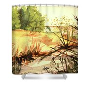Bouquet Canyon Wash 2 Shower Curtain