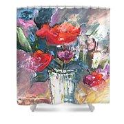 Bouquet De Chez Moi 01 Shower Curtain
