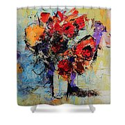 Bouquet De Couleurs Shower Curtain