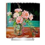 Bouquet De Roses - Marrakech Shower Curtain