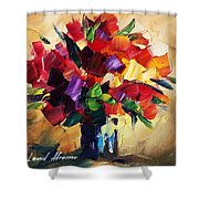 Bouquet For Sweeheart Shower Curtain