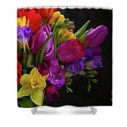 Floral Dance Shower Curtain