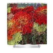 Bouquet Of Colors Shower Curtain