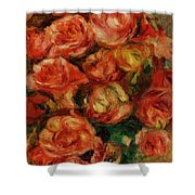 Bouquet Of Flowers 1915 Shower Curtain