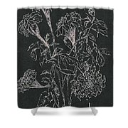 Bouquet Of Flowers  Shower Curtain