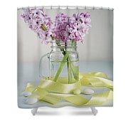 Bouquet Of Hyacinth Shower Curtain